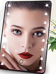 cheap -Cosmetic Mirrors Lighting / Alcohol Free / Unscented Makeup 1 pcs Aluminium Alloy / ABS Quadrate Child / Daily / Teen Traditional / Fashion Daily Wear / Vacation / Festival Daily Makeup Safety