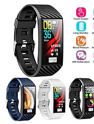 Недорогие -Умный ремешок df02 водонепроницаемый ЭКГ монитор сердечного ритма сердечного ритма ips большой экран умные часы для android ios умный браслет