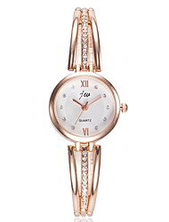 cheap -Women's Dress Watch Quartz Casual Watch Analog Classic - Silver Fuchsia