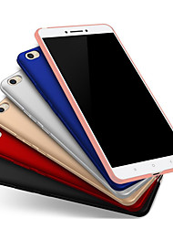 cheap -Case For Huawei P8 Lite (2017) Dustproof / Ultra-thin / Backup Back Cover Solid Colored Hard Plastics / PC