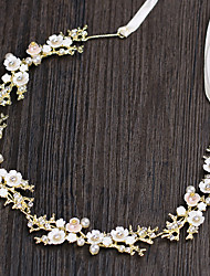 cheap -Women's Headbands Hair Jewelry For Wedding Engagement Party Birthday Wedding Crystal Alloy Silver Golden 1pc