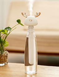 cheap -BRELONG Small Antler Humidifier USB Bottle Cap Portable Style Home Office Water Bottle Humidifier