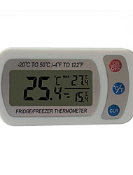 cheap -Practical High-precise Waterproof Electric Refrigerator Thermometer with Display Screen