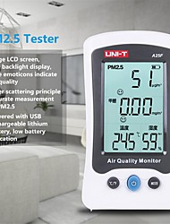cheap -UNI-T A25F Desktop Formaldehyde PM2.5 Detector Air Quality Temperature Measurement Meter New
