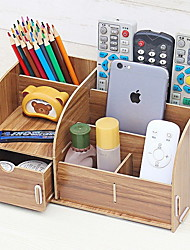 cheap -Wooden Classic Home Organization, 1pc Organizer Boxes