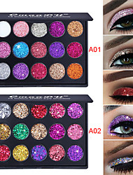 cheap -2 Colors Eyeshadow Odor Free Normal Fashionable Design 1 pcs Makeup Cosmetic EyeShadow Dressing up Halloween Makeup Party Makeup Cateye Makeup Glamorous & Dramatic Fashion Waterproof Long Lasting