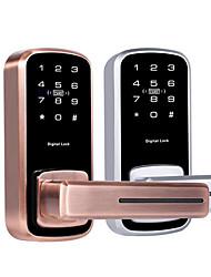 cheap -The latest electronic lock password lock indoor wooden door password lock card lock single tongue electronic password lock