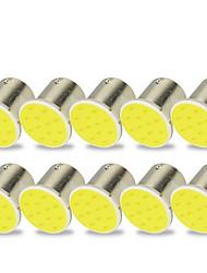 Недорогие -10 шт. 1156 Мотоцикл / Автомобиль Лампы 2 W COB Светодиодная лампа Лампа поворотного сигнала / Тормозные огни / Фонари заднего хода (резервные) Назначение Универсальный Все года