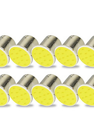 cheap -10pcs 1156 Motorcycle / Car Light Bulbs 2 W COB LED Turn Signal Lights / Brake Lights / Reversing (backup) Lights For universal All years