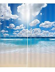 Недорогие -Горячая новая цифровая печать шторы утолщенные полные тени ткани занавес для гостиной водонепроницаемый против морщин чистого полиэстера занавески для душа