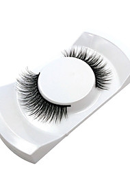 cheap -Eyelash Extensions 2 pcs Simple Women Ultra Light (UL) Comfortable Casual Convenient Animal wool eyelash Daily Wear Vacation Full Strip Lashes - Makeup Daily Makeup Classic Cosmetic Grooming Supplies