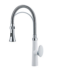 cheap -Kitchen faucet - Single Handle One Hole Painted Finishes Tall / ­High Arc Other Contemporary Kitchen Taps