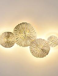 cheap -Mini Style Flush Mount wall Lights Living Room Bedroom Metal Wall Light 110-120V 220-240V 4 W LED Integrated