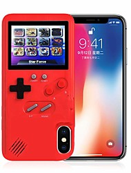 cheap -Case For Apple iPhone XS / iPhone X Dustproof / Game case Back Cover 3D Cartoon Hard Plastic