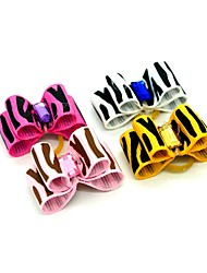 cheap -Dogs Ornaments Hair Accessories For Dog / Cat Bowknot Decoration Geometry Metalic Polyester Rubber Rainbow