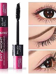 cheap -Beautiful Natural 3D Fiber Waterproof longlasting Black Mascara Eyelash Long Curling Lashes Double Effects Mascara Eye Makeup