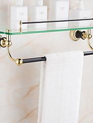 cheap -Towel Bar Creative Contemporary Brass 1pc Wall Mounted