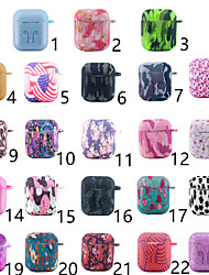 cheap -Case For AirPods Shockproof / Water / Dirt / Shock Proof / Pattern Headphone Case Soft