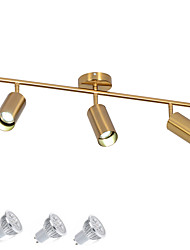 cheap -3 Lights Gold Spot Lighting/ GU10 LED5W Bulb Included for Living Room Bedroom Dinning Room Show Room Shoping Mall / Warm White / White
