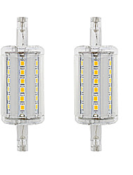 cheap -2pcs 5 W LED Corn Lights 300 lm R7S 36 LED Beads SMD 2835 Dimmable Warm White White 220 V 110 V