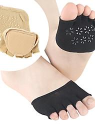 abordables -1 paire Femme Chaussettes Standard Couleur Pleine Déodorant Style Simple Gel / Coton EU36-EU46