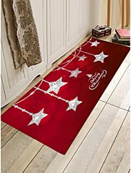Недорогие -Yiwu pho_07g8 В дверь Рождественский коврик для пола Коврик для ванной кухни Ванная комната абсорбирующий коврик для ванной комнаты Нескользящий коврик для двери Коврик для спальни в спальне 40cmx60cm