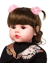 cheap -Reborn Doll Baby Girl 22 inch Kids / Teen Kid's Unisex Toy Gift