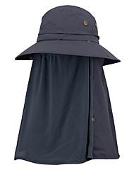cheap -Hiking Hat 1 PCS Portable Anti-Mosquito Anti-Eradiation Comfortable Solid Color Chinlon Autumn / Fall Spring Summer for Men's Women's Fishing Camping / Hiking / Caving Traveling Dark Grey Grey Khaki