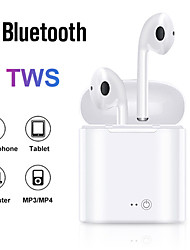 cheap -i7s TWS Bluetooth Earphone Stereo Earbud Bluetooth Headset with Charging Pod Wireless Headsets for All Smart Phone