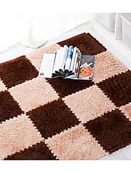 abordables -Dongguan pho_07e3 tapis de mosaïque tapis tapis de porte eva mousse chambre salon rampant tapis tatami puzzle tapis tapis surface en peluche 30x30 (épaisseur 1cm) _ blanc