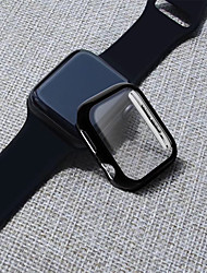 Недорогие -ПК с защитной пленкой на весь корпус для Apple Watch серии 4 3 2 1 44мм / 40мм / 38 / 42мм защитная оболочка