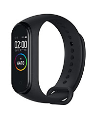 cheap -Xiaomi Mi Band 4 Smart Watch BT 5.0 Fitness Tracker Support Notify Compatible Samsung/HUAWEI Android Phones & IPhone(China Version)
