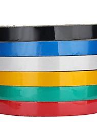 Недорогие -1 см х 3 м светоотражающая наклейка безопасности автомобиля предупреждение лента украшения