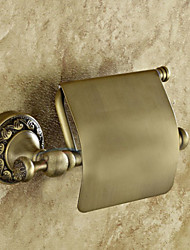 cheap -Toilet Paper Holder Creative Antique Brass 1pc - Bathroom Wall Mounted