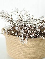 cheap -Artificial Flowers 1 Branch Classic Modern Baby Breath Eternal Flower Tabletop Flower