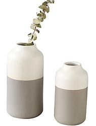 abordables -Vase à fleurs décoratif élégant de 8 pouces / 10 pouces pour la décoration intérieure de salon, maison, bureau, table et mariage, centres de table et événements