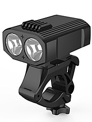 cheap -LED Bike Light Front Bike Light Mountain Bike MTB Bicycle Cycling 360° Rotation Multiple Modes Super Brightest Wide Angle 400 lm Rechargeable USB White Camping / Hiking / Caving / Quick Release / ABS