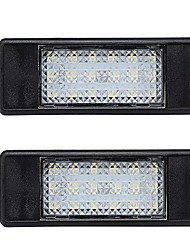 cheap -LED License Number Plate Lights White Pair for Mercedes Sprinter Vito Viano W906 W639