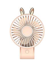 abordables -1 pc de bureau usb charge maquillage miroir ventilateur portable en plein air fille cadeau mini ventilateur