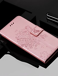 cheap -Case For Nokia Nokia 9 PureView / Nokia 7.1 / Nokia 4.2 Wallet / Card Holder / with Stand Full Body Cases Cat / Tree Hard PU Leather