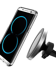 cheap -360 Degree Rotation Car Wireless Charger For iPhone XsMax/Xs/Xr/8plus Qi Magnetic Wireless Car Charger For Samsung S10/S9/S8 10W