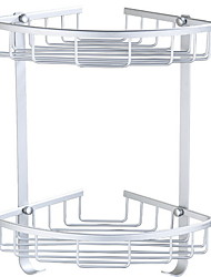 cheap -Bathroom Shelf Creative / Multifunction Modern Aluminum 1pc Wall Mounted