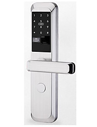 cheap -Factory OEM LD-A9 Stainless Steel Intelligent Lock Smart Home Security System RFID / Fingerprint unlocking / Password unlocking Home / Office Security Door (Unlocking Mode Fingerprint / Password