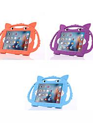 cheap -Case For Apple iPad Mini 5 / iPad Mini 3/2/1 / iPad Mini 4 Shockproof / Child Safe Case Back Cover Solid Colored / Animal / 3D Cartoon Silica Gel