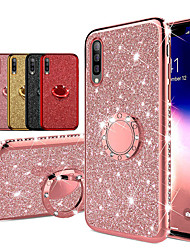 cheap -Diamond 360 Degree Rotating Ring Holder Plating Soft TPU Glitter Bling Cases For Samsung A70 A50 A40 A30 A20 A10 A7 2018 A8 Plus 2018 A8 2018 A6 Plus 2018 A6 2018 Shining Case