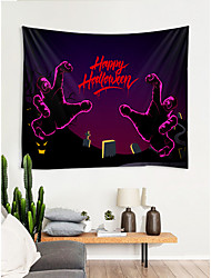 cheap -Halloween  Fairytale Theme Wall Decor 100% Polyester Modern / New Year's Wall Art, Wall Tapestries Decoration