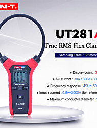 cheap -UNI-T UT281A Smart Digital Rogowski Flexible Clamp Meter Multimeter Handheld AC Current tester True RMS Clamp Ammeter