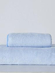 cheap -Superior Quality Bath Towel, Solid Colored / Fashion 100% Micro Fiber Bathroom 1 pcs
