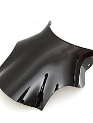 abordables -pare-brise pare-brise noir abs de moto pour honda cb400 super four cb400sf