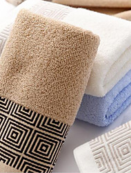 cheap -Superior Quality Wash Cloth, Solid Colored / Plaid / Checkered / Fashion Polyester / Cotton Blend / Cotton / Linen Blend Bathroom 1 pcs
